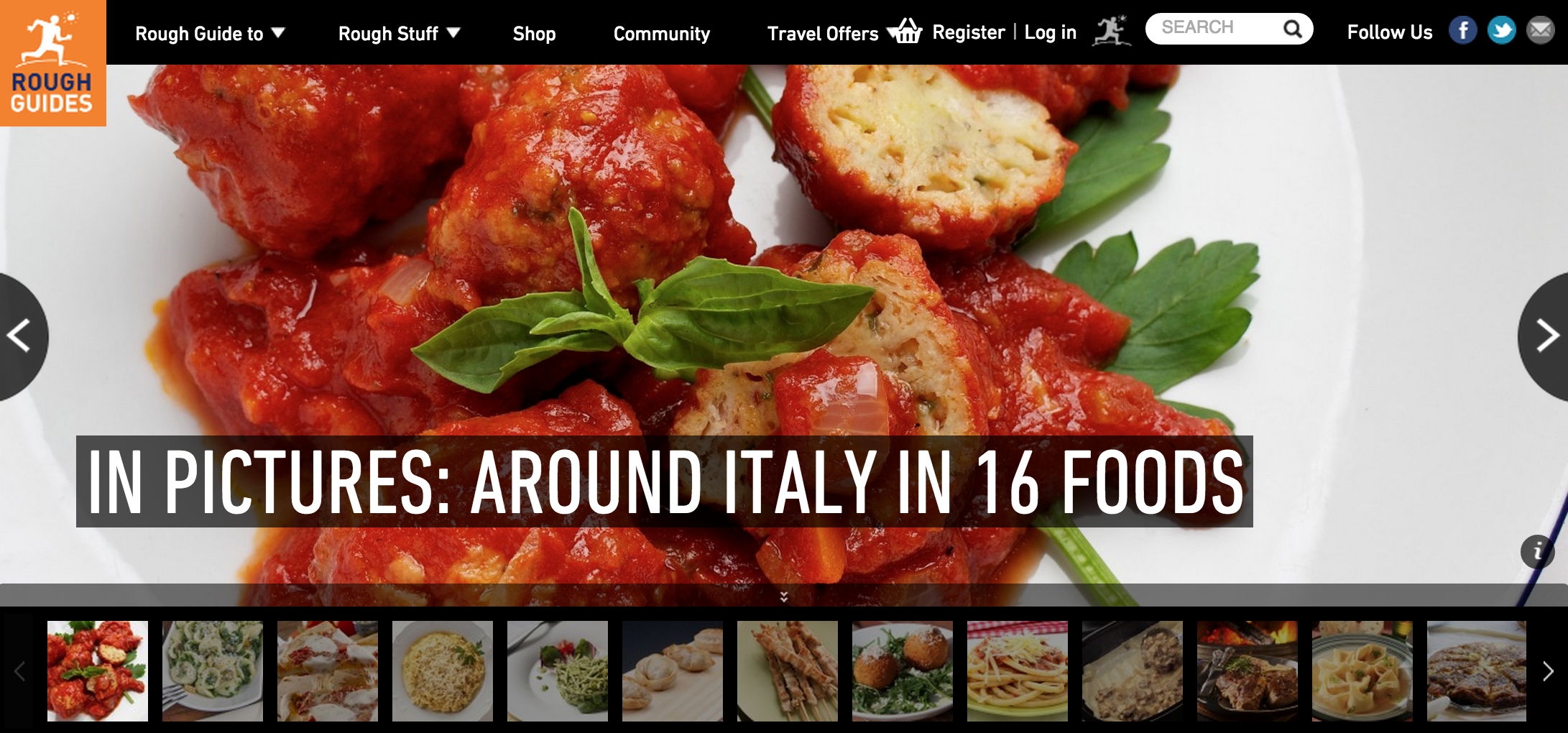Italy foods Gallery