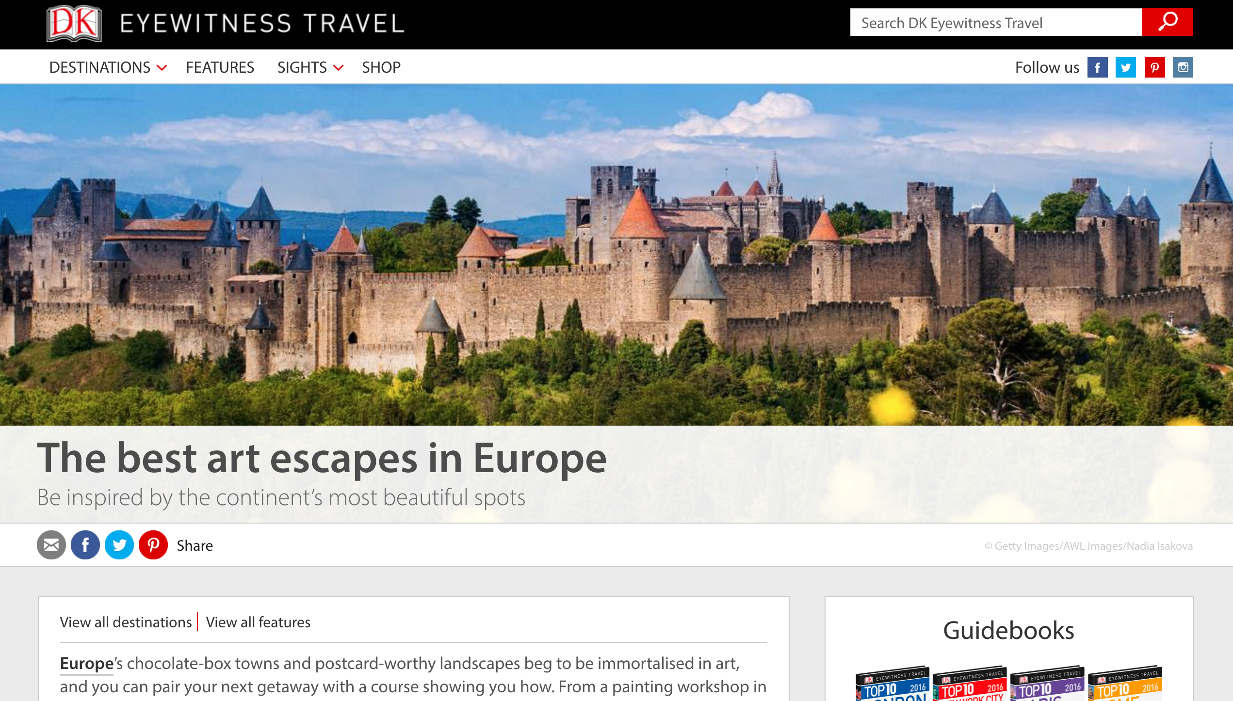 The best art escapes in Europe - DK Travel